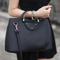 2014 Fashion  Women Messenger Bag women's genuinether lea quality casual handbag shoulder bag free Shipping