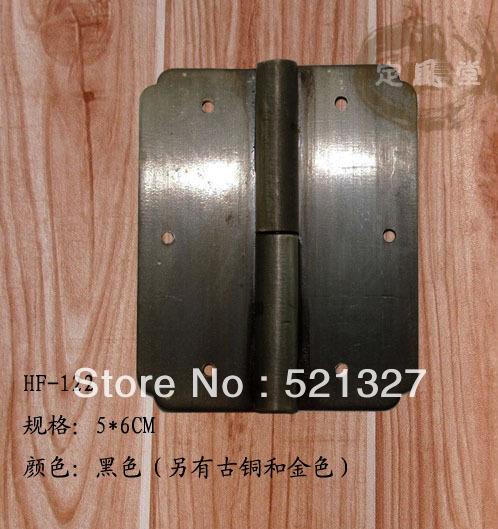 Antique copper hinge hinge cabinet shake Paper HF-122 Black(China (Mainland))