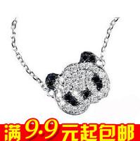 wholesale 10pcs/lot E4205 queer accessories gentle full rhinestone necklace short design