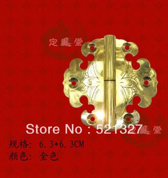 Antique copper hinge cabinet door hinge boxes clouds CH-014 6.3CM