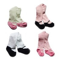 FREE SHIPPING 2013 U.S. winter cotton children  legging  baby bottoming pantyhose girls pants  12pcs/lot