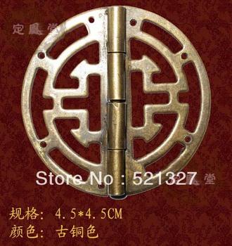 Antique furniture hinge copper  rocking leather hinge HF-031 4.5CM