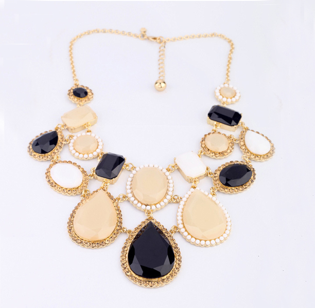 2013 Women's Luxury Beads Vintage Choker Ne