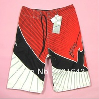 2013 for men`s brand design board shorts polyester peach skin quick dry beach shorts summer swim Rash Guards free shipping