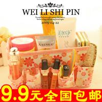 wholesale 10pcs/lot 9140 flower dressing jewelry box small storage bag