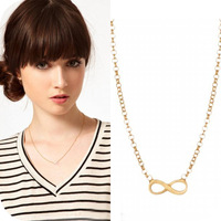 Free shipping wholesale On0324 fashion accessories exquisite short design 8 bow necklace 6g