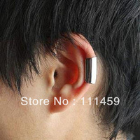 punk fashion simple man ear cuff clip earrings fashion man Jewelry JYEM-0528145 silver