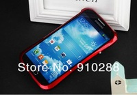 Colors Aluminum alloy metal  bumper  case cover  shell phone  for SAMSUNG  Galaxy S4 i9500