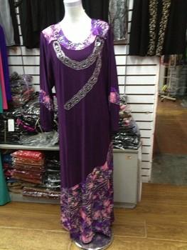 2013 islamic clothing or muslim women long dress jilbab islamic abaya for women Embroidery Print Dress free shipping Hot sale!