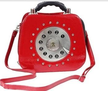 Amelia hot-selling fashion vintage telephone bag shaping bag portable women's cross-body handbag