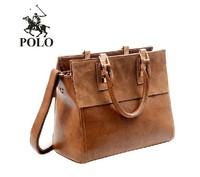 2014 New Polo brand Fashion Retro Ladyies Street bags women leather Handbag,ladies Shoulder Bag,tote bag,free shipping JF-00890