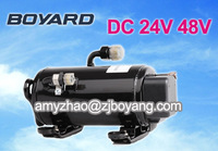 china auto parts manufacturer Lanhai BLDC rotary compressor for 12V air conditioner