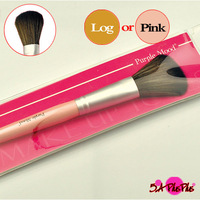 Pink or Log Color For Choose Synthetic Hair Blusher Single Cosmetic Makeup Brush Wood Beauty Shop Free Shipping
