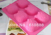 Украшения для выпечки Moon Chocolate Mold Star Ice Cube Fondant Moulds Tce Tray New Ice Cream Tools Q2213