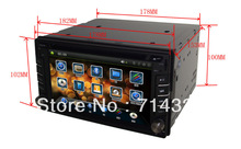 6.2 inch Car DVD Player with Bluetooth TV With GPS Free Shipping(China (Mainland))