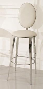 Modern design stainless steel legs bar stool bar chair bar furniture public commercial furniture 05