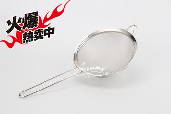 Filter mesh stainless steel milk oil leak oil sludge loushao oil Large 18cm diameter
