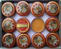 wholesale Chinese traditional herb tiger balm 60pieces/lot essential balm for treatment of influenza, cold, headache, dizziness