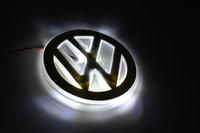 Free shipping PVC LED VW   Tail Lights / Car Emblem Light / VW Car LED logo light