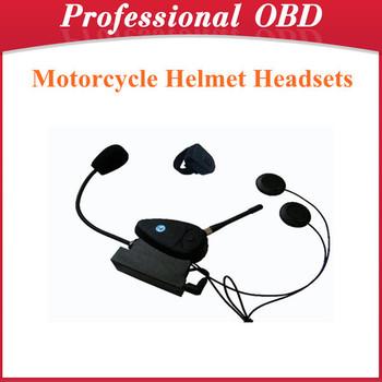 Motorcycle Helmet Headsets Intercom Bluetooth Handsfree Kit Free Shipping