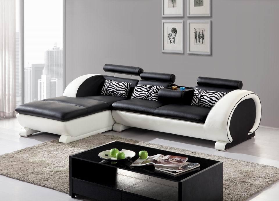 sofa c014 genuine leather sofa l shape sofa simple design