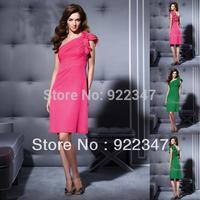 Elegant dresses chiffon bridesmaid dresses plus size dresses 20121108328