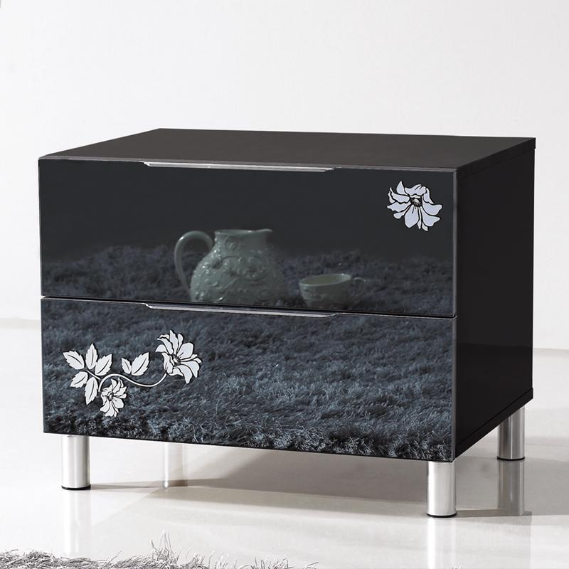 Online kopen wholesale glas nachtkastjes uit china glas nachtkastjes groothandel - Meubilair zwarte keuken lak ...