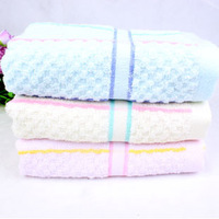 Free shipping high quality jacquard thick cotton towel gift bump 34 * 75cm