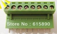 FREE SHIPPING 100PCS 2EDG-5.08-8P + 2EDGV-5.08-8P 2EDG 2EDGV 8Pin 5.08mm Straight Pin Plug-in Screw Terminal Block ROHS