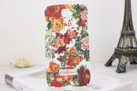 Free shipping multicolor  floral flower  phone back case cover  For Samsung Galaxy S4 I9500 best  price  AMCK284