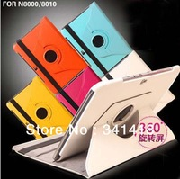 For Samsung galaxy note 10.1 Case n8000 n8010 Leather Case with Free Screen Protector For samsung galaxy tab N8000 Freeshipping