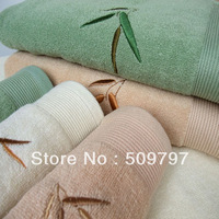 "Free delivery of high quality bamboo fiber plain short bamboo bath towel,55""x27"" 70*140cm 400g"