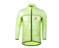2014 NEW Free shipping Portable super light for castelli cycling raincoat/Windbreaker,cycling rain jacket,transparent raincoat