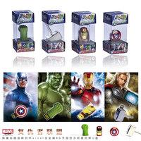 Wholesale Hot sale Fashion Avengers alliance LED Flash 1-128GB USB Flash 2.0 Memory Drive Stick Pen/Thumb/Car Ub263