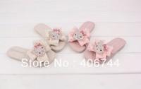 pink/Beige/rose ,hot sell children  diamond   slippers/sandals  ,ZYL07