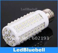 7W E27 220V 6000-6500K Pure White light bulb 108 leds energy saving LED bulb 360 degree Spot light lamp  [LedBluebell ]
