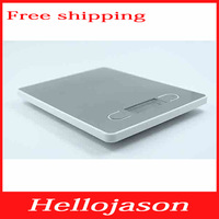 7827 1pcs free shipping Brand New Capacicty 5000g/1g high precision digital kitchen scale with backlight