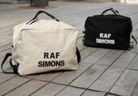 Raf simons thickening canvas letter bag one shoulder double-shoulder lovers bag man bag women's handbag