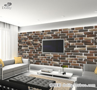 Dolly - mural wallpaper tv wall brick wall - bh185