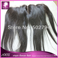 Aliexpress Peruvian hair middle part lace frontal