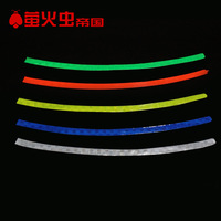 Bicycle stickers reflective stickers mountain bike rim bicycle reflective of wheel night
