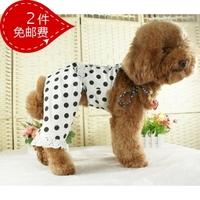 2 pet clothes dog clothes set summer teddy pet clothes dog