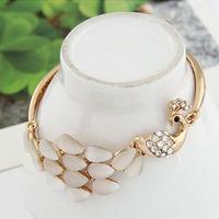 Delicate new arrival graceful peacock bracelet for women