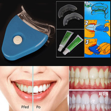 White Light Teeth Whitening Tooth Gel Whitener Health Oral Care Toothpaste Kit For Personal Dental Care Healthy Hot & New