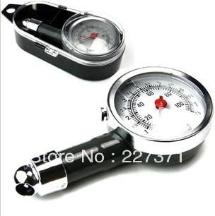 Car Tire Tyre Pressure Gauge Dial Measure Monitor Metal