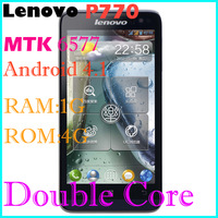 "Original Lenovo P770/ P780 MTK6577 Dual Core 4.5"" Android 4.1 IPS Mobile Phone 1GB/4GB Support 3500mAh"