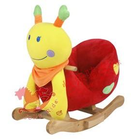 Детская игрушка Snail rocking chair walker rollaround horse toy