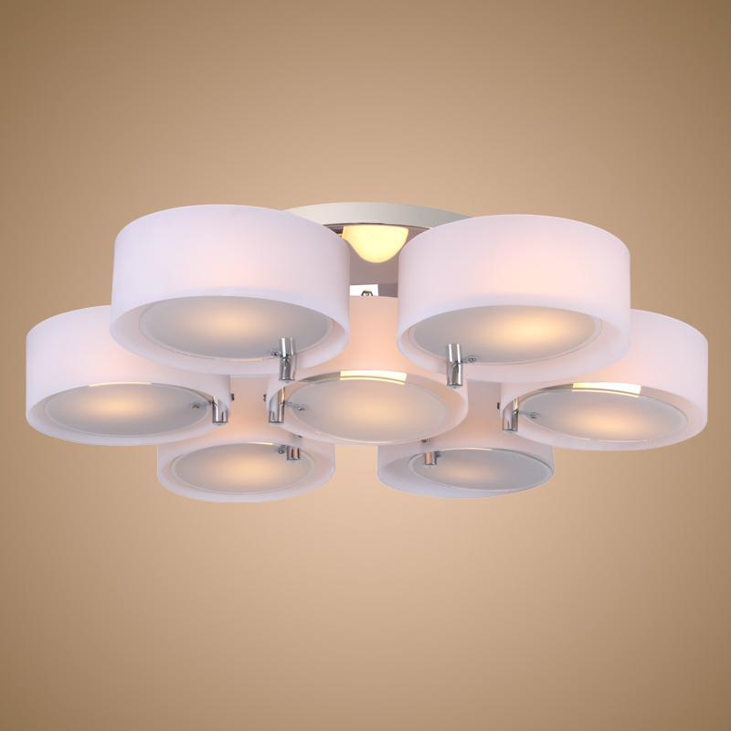 luce lampadario in acrilico finitura cromata massimale di soggiorno ...