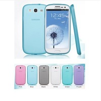 Slim Fit Flexible Rubberized Soft TPU Case for Samsung Galaxy S3 SIII i9300