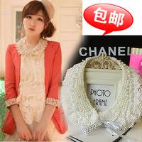 Collar sweet false collar lace  sparkling bead false collar necklace accessories fashion female shirt
